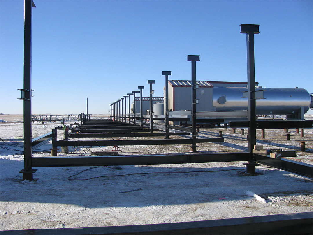 Structural-steel-supports